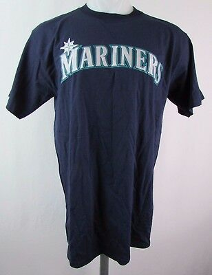 c01ca912 Seattle Mariners Men's S M L 5XL Jersey Logo Graphic T Shirt SPECIAL MLB 1