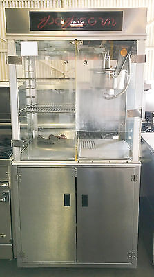 Gold Medal 16Oz Popcorn Machine W Warming Trays Model 1618 Ets Theatres Ounces