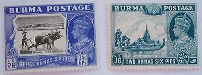 Burma   Scott#26  Unused/h  Stamp...worldwide Stamps