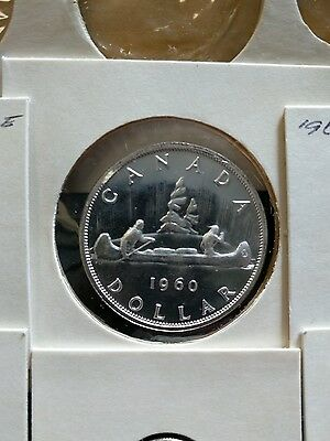 1960 Royal Canadian Mint Canada Uncirculated Silver Proof-Like Mint 6-Coin Set