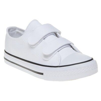 New Infants XTI White 70929 Canvas Trainers