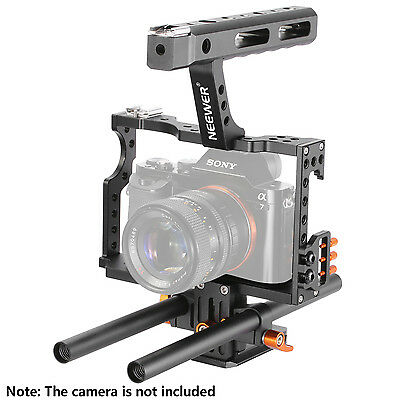 Neewer Film Movie Making Rig Camera Video Cage Kit for Sony A7 A7S A7SII A6000