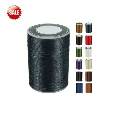 0.8mm 78M Waxed Thread String Cord Polyester Stitching for leather Shoes  Repair