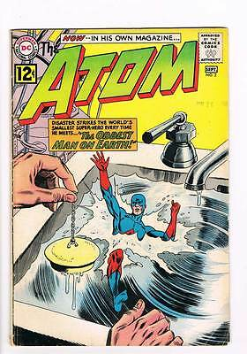 Atom # 2 The Oddest Man on Earth ! grade 4.0 scarce book !!