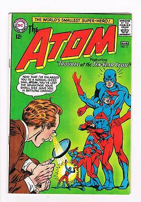 Atom # 11 Trouble at the Ten-Year Club ! grade 3.0 scarce book !!