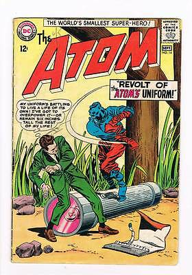 Atom # 14 Revolt of the Atom's Uniform ! grade 1.0 scarce book !!