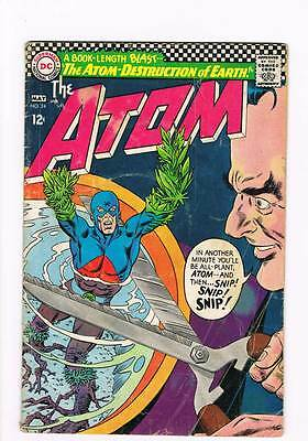 Atom # 24 Atom - Destruction of Earth ! grade 3.0 scarce book !!