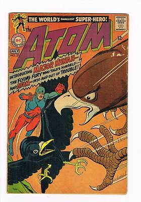 Atom # 37 Major Mynah ! grade 2.5 scarce book !!