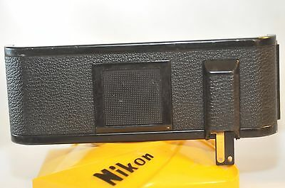 Nikon MF-6 Film back for F3 cameras w/ MD-4 Motor Drive leaded out AS IS READ