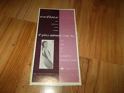 CELINE DION-IF YOU ASKED ME TO-1992 magazine advert