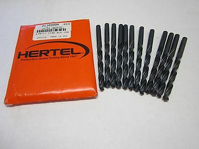 Lot of 12 Letter I High Speed Jobber Length Drill Bits 118 Degree Oxide