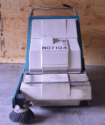 """Nobles Scout 37B Battery Powered 24VDC Walk Behind Floor Sweeper Cleaner 37"""""""