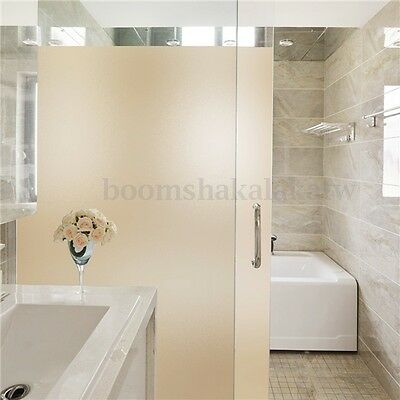 60cmx180cm Sand Blast Privacy Frosted Frosting Removable Glass Film Window
