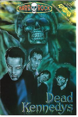 Hard Rock Comics #13  Dead Kennedys (1993) VF  1st Print