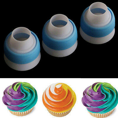 Icing Piping Russian Nozzles Bag Cream Converter Coupler Cake Decorating Tools C