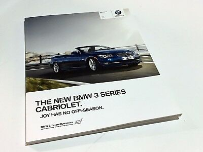 Brochure bmw 3 series 2007 pdf