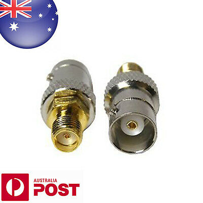 BNC Female Plug to SMA Female Jack Antenna Adapter Connector - AUSPOST - Z268