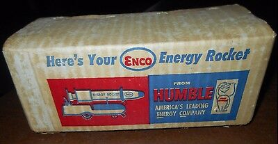 Unopened Old New Stock Enco Humble Energy Rocket Toy @