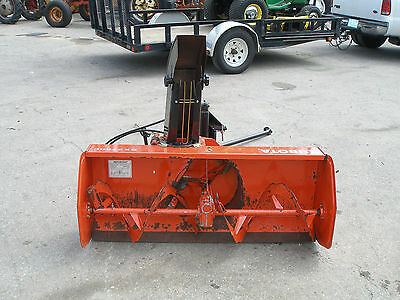 Nice  Kubota Bx2750C 50 Inch Quick Attach Snow Blower