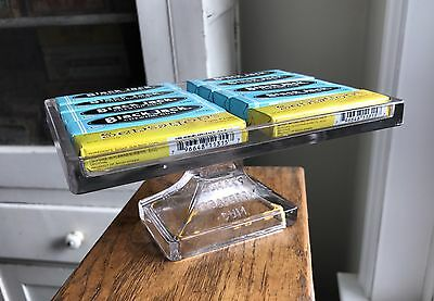 Vintage Teaberry Gum Counter Display Clear Glass Dime Grocery Store with Gum