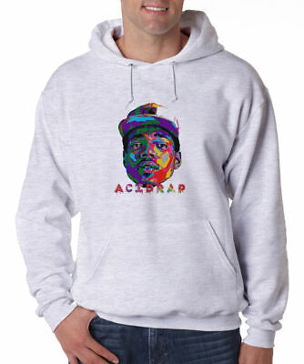 Chance The Rapper Acid Rap Hoodie Hip Hop Music Rapper Fleece Sweatshirt New