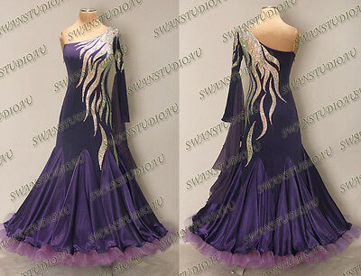 Ballroom .standard. Smooth Dance Competition Dress Size S M L Wb3310