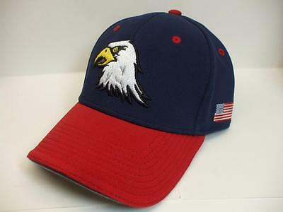 Custom Sports Ball Cap Hat Proflex Fitted sz M/L BY Outdoor Cap EAGLES