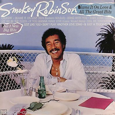 Smokey Robinson 1983 All The Greatest Hits Promo Poster