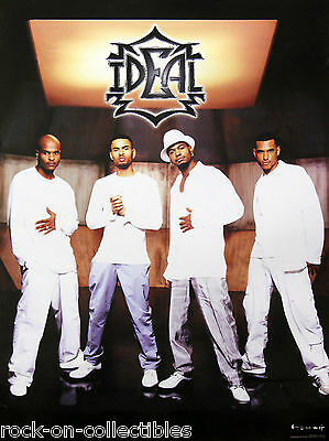 Ideal 1999 Self-Titled Debut & Tour Promo Posters Houston, Texas R&B Soul