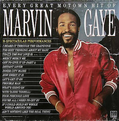 Marvin Gaye 1983 Every Great Motown Hit Promo Poster