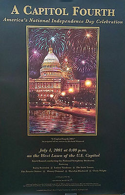 Luther Vandross Donny Osmond 2001 A Capitol Fourth At The US Captiol Poster
