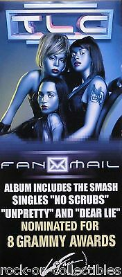 TLC 1999 Fanmail Original Promo Poster - Double Sided