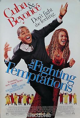 Destiny's Child Beyonce '03 Fighting Temptations Poster Original