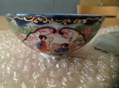 Chinese Antique Small Bowl and Dish
