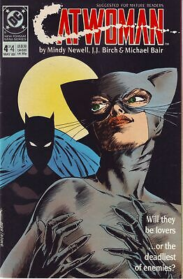 Catwoman (1989 mini series) #4 ~ DC Comics