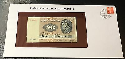 Banknotes Of All Nations Denmark ( 1979 ) 20 Kroner P 7   UNC