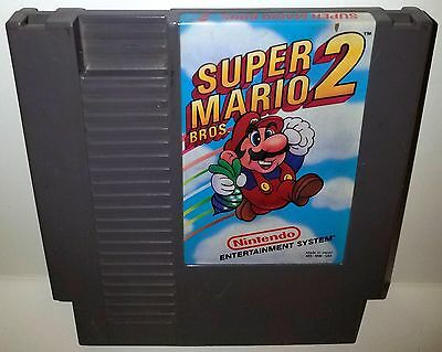 Nintendo NES SUPER MARIO BROS. 2 (GAME CARTRIDGE ONLY) TESTED! WORKS GREAT!