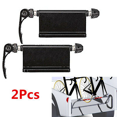 2p Car Pickup Bike Block Quick-release Alloy Fork Mount Rack Carrier Holder Trim