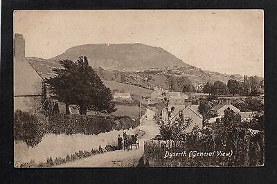 Dyserth - General View - printed postcard