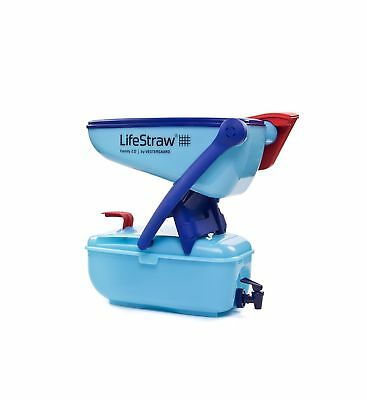 New LifeStraw® Family 12 Litres Portable Point of Use Drinking Water Filter Tan