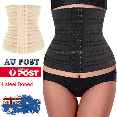 Women Tummy Corset Waist Trainer Tummy Training Body Shaper Control Cincher EML