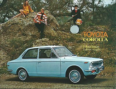 Auto Brochure - Toyota - Corolla - Older US Market Issue (A1178)
