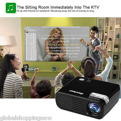 Proyectores de Home cinema 5000 lm LED PROJECTOR Bluetooth+WiFi+Android 1080p ES