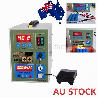 787A+ LED Pulse Battery Spot Welder Precision Welding Machine AU STOCK