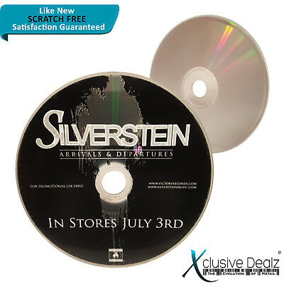 Arrivals & Departures by Silverstein 2007 Victory Rock Album CD DISC ONLY #XD3