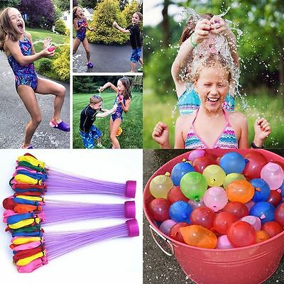 111pcs Magic Water Balloons Bombs Toys Kids Garden game Party Summer Refill NG