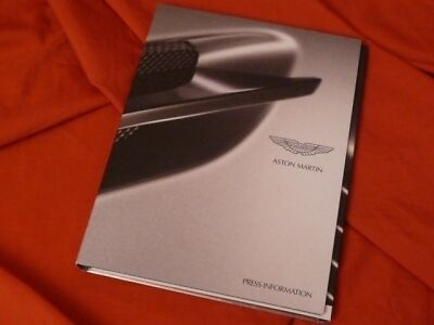 2008 ASTON MARTIN Geneva Genf Press Kit V12 Vantage RS N400
