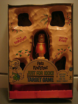 Vintage Toy The Flintstones Target Game Orig Box Hanna Barbera FRED FLINTSTONES