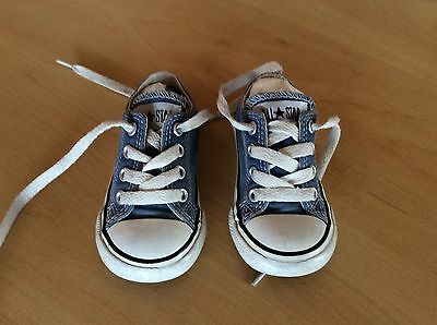 Converse Infant Boys Blue Pumps, Size 5