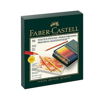Faber-Castell - Polychromos Colour Pencils - Gift Box of 36
